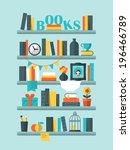 flat vector illustration of... | Shutterstock .eps vector #196466789