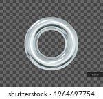 vector 3d geometric object.... | Shutterstock .eps vector #1964697754