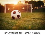 Soccer Sunset   Football In Th...