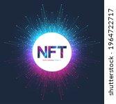 nft non fungible token. non...   Shutterstock .eps vector #1964722717