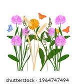 grass meadow vector stock... | Shutterstock .eps vector #1964747494