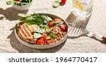 Turkey Steak Or Chicken With...