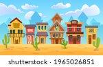 Wild West City  Cartoon Western ...