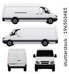 White Commercial Vehicle   Van...