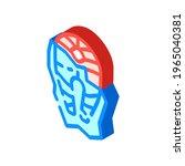 frozen fish isometric icon... | Shutterstock .eps vector #1965040381