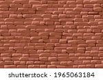 brick red wall. background...   Shutterstock .eps vector #1965063184