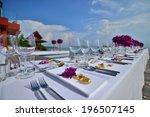 wedding set up | Shutterstock . vector #196507145