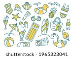 summer travel  holiday and... | Shutterstock .eps vector #1965323041