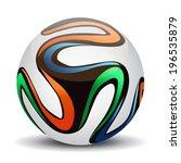 soccer ball. | Shutterstock .eps vector #196535879