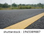 Yellow Traffic Line It Is Used...