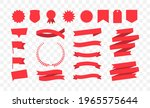set of red banners. collection... | Shutterstock .eps vector #1965575644