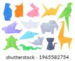 Origami Animals. Geometric...