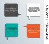 infographics elements. | Shutterstock .eps vector #196567079