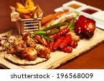 German Food Concept. Set Of...