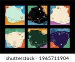 one set of memphis and bauhaus... | Shutterstock .eps vector #1965711904