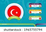 turkey national team schedule...   Shutterstock .eps vector #1965755794