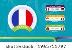 france national team schedule... | Shutterstock .eps vector #1965755797