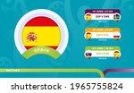 spain national team schedule...   Shutterstock .eps vector #1965755824