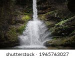 Powerful Water Of A Waterfall...