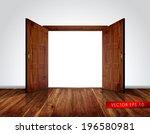 Open Massive Wooden Big Double...