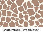 abstract modern giraffe... | Shutterstock .eps vector #1965835054