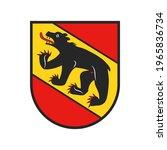 swiss canton emblem  bern or... | Shutterstock .eps vector #1965836734