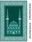vector design of muslim prayer... | Shutterstock .eps vector #1965942334
