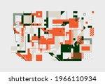 modern artwork of abstract...   Shutterstock .eps vector #1966110934
