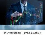 an asian man in a suit is...   Shutterstock . vector #1966122514