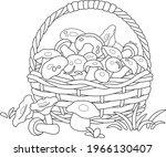 Big Wicker Basket Full Of...