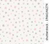 simple stars seamless pattern... | Shutterstock .eps vector #1966146274