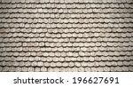 Pattern Of Wooden Roof Of Old...