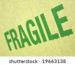 fragile corrugated cardboard