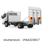 Canter Cargo Truck Isolated. 3d ...