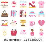 mother day related vector icon...   Shutterstock .eps vector #1966350004