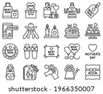mother day related vector icon...   Shutterstock .eps vector #1966350007