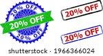 bicolor 20 percents off seal... | Shutterstock .eps vector #1966366024