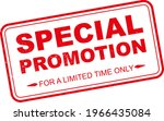 special promotion grunge rubber ... | Shutterstock .eps vector #1966435084