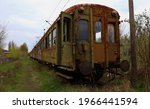 Old  Rusty  Abandoned Train In...