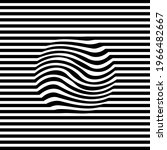 abstract stripes black and...   Shutterstock .eps vector #1966482667