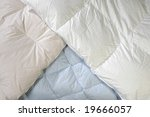 downy blankets  laid out in...   Shutterstock . vector #19666057