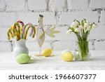 Spring Easter Still Life With...