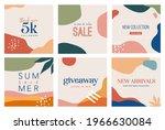bohemian summer  set of modern... | Shutterstock .eps vector #1966630084
