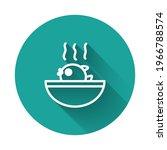 white line puffer fish soup...   Shutterstock .eps vector #1966788574