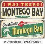 montego bay jamaica retro tin... | Shutterstock .eps vector #1966792894
