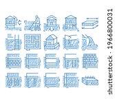 house foundation base sketch...   Shutterstock .eps vector #1966800031