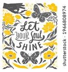 let your soul shine  ... | Shutterstock .eps vector #1966808974