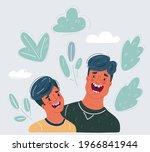 cartoon vector illustration of... | Shutterstock .eps vector #1966841944
