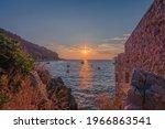 Limeni  Laconia Greece   August ...