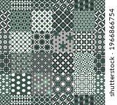 geometric tiles patchwork... | Shutterstock .eps vector #1966866754